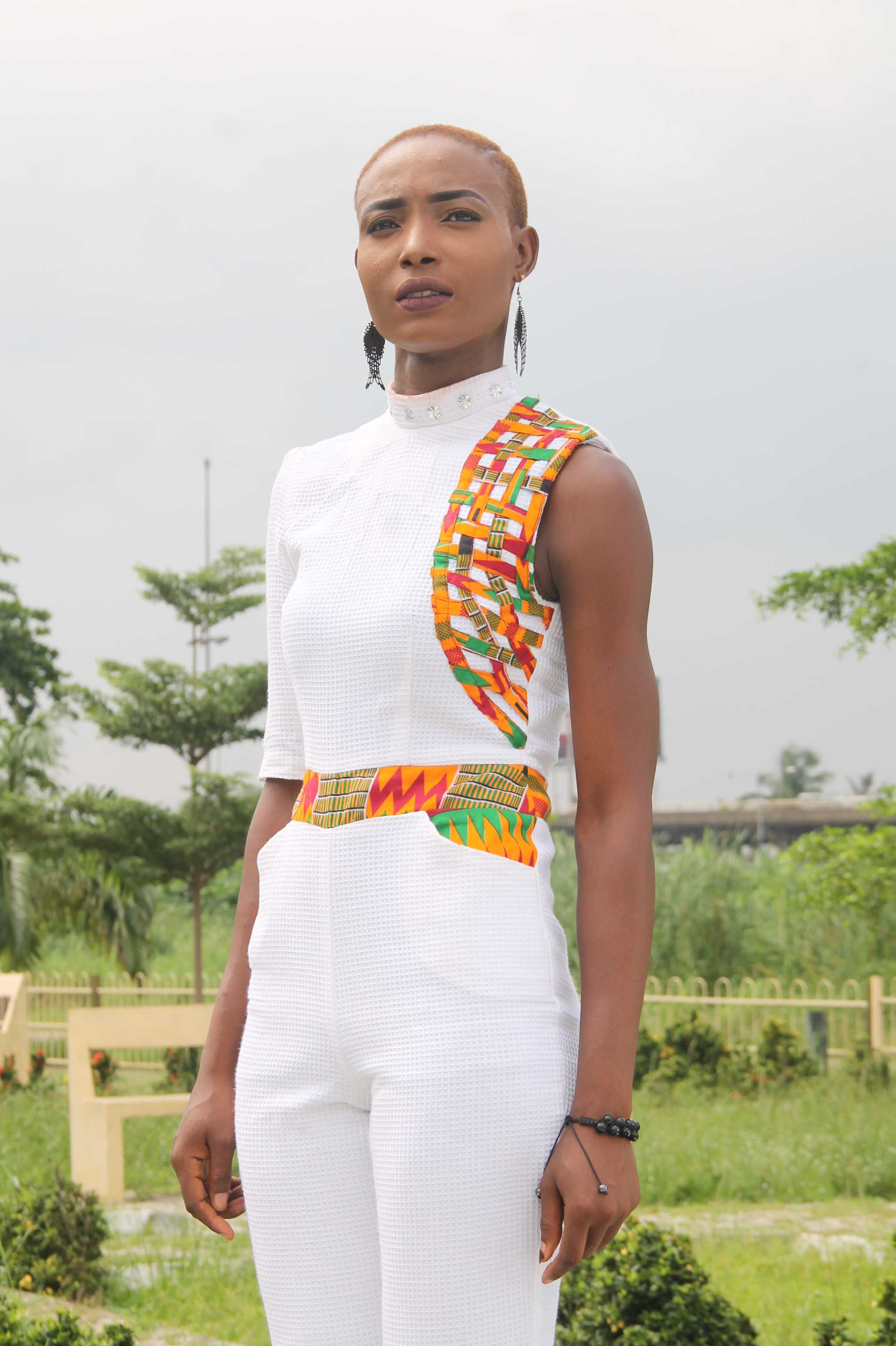 Jumpsuit by Oyin Daramola