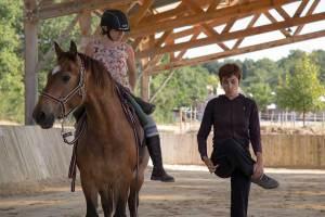 Gina Pitti Equi-Attah yoga à cheval indépendance des aides