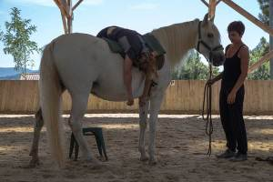 Gina Pitti Equi-Attah yoga à cheval respiration et décontraction