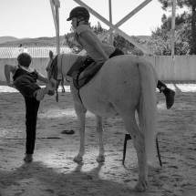 Gina Pitti Equi-Attah yoga à cheval gestion du corps dans l'espace