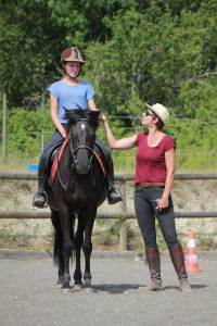 Gina Pitti cours diagnostique couple cavalier cheval