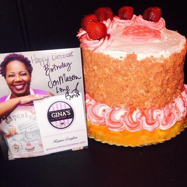 Gina's Custom Cake