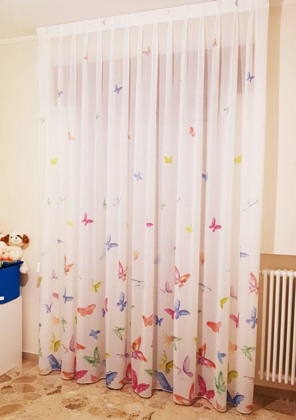 Scopri i prodotti tende per cameretta bambini con i migliori prezzi e sconti. Tenda Colorata Per Camerette Mod Farfalle Gina Tendaggi
