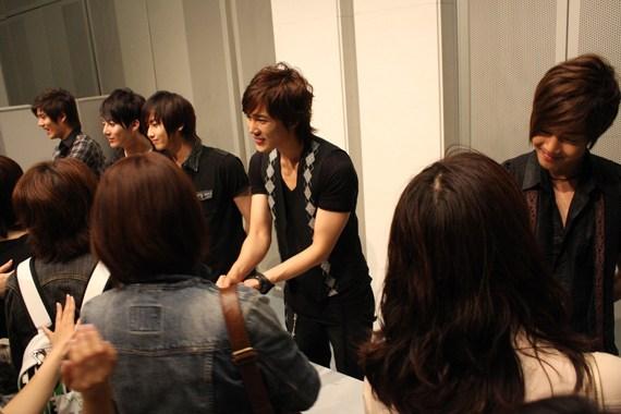 SS501 in日本東京握手會