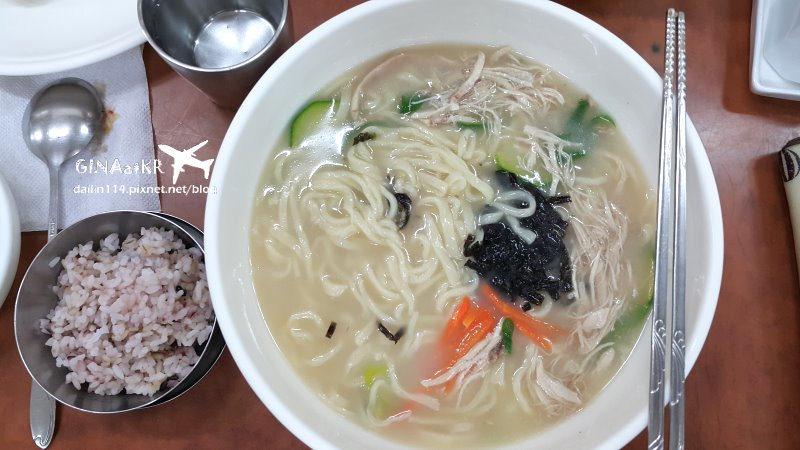 濟州食記》옛날 홍가네칼국수 古早味 洪家味刀削麵+韓國大水餃