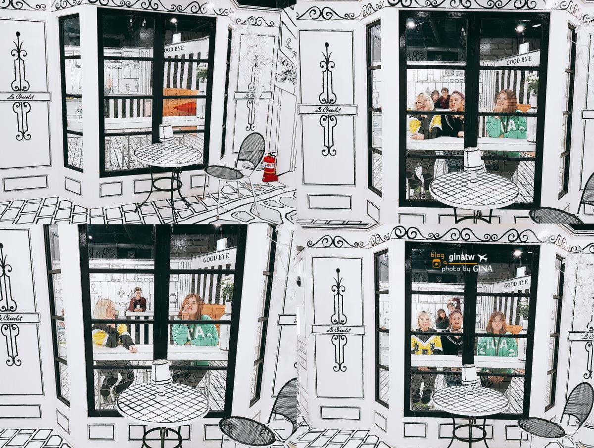 首爾仁寺洞景點》愛來魔相藝術館(박물관은살아있다)+智勇迷宮 還有最近韓國超火的黑白咖啡廳好好拍 附交通地圖+GINA讀者優惠卷 韓劇《你為我著迷》、韓綜JESSICA & KRYSTAL拍攝地