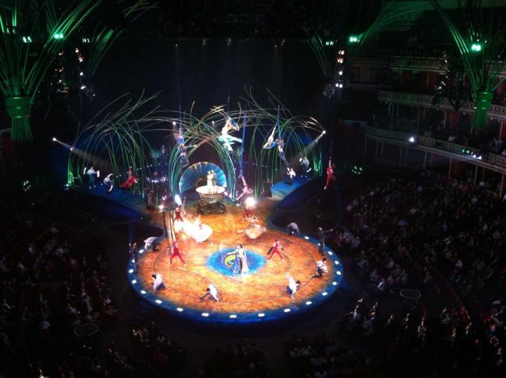Amaluna Cirque du Soleil London 2016 © Thomas Mussbacher & Ines Erlacher