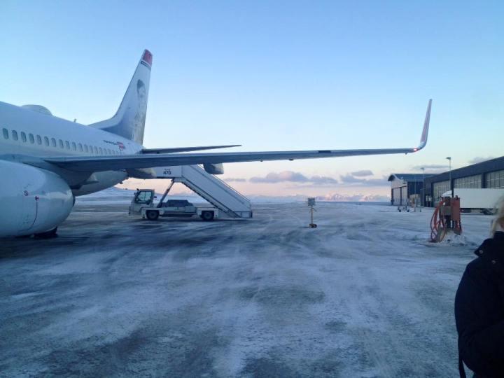 Longyearbyen Flughafen Spitzbergen © Ines Erlacher und Thomas Mussbacher