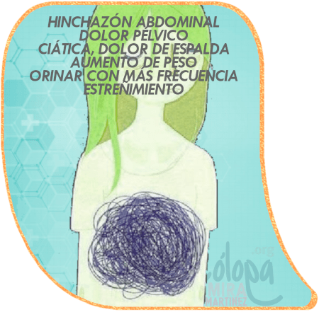 HINCHAZON DOLOR DE BARRIGA PELVICO