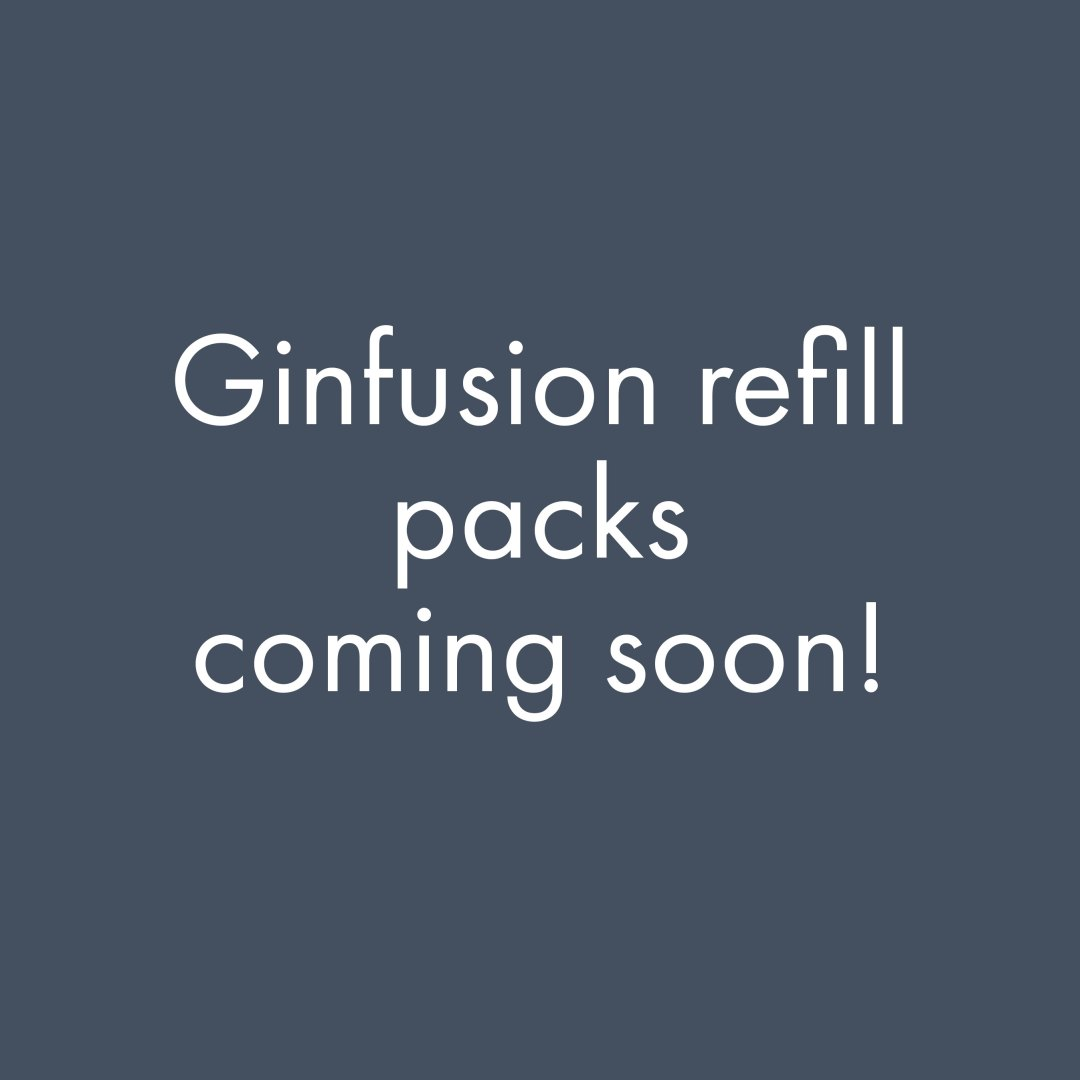 Ginfusion Refill Packs