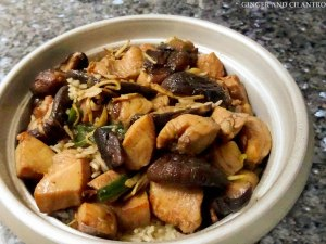 Easy Claypot Chicken Rice