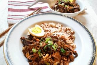 Taiwan Ground Pork Rice image