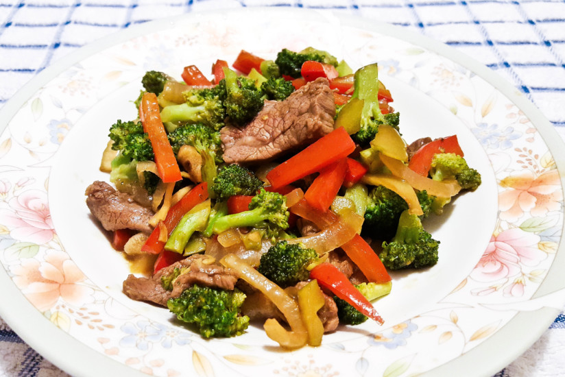 Ginger Broccoli Beef