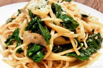 Spinach Linguine Pasta 20161208