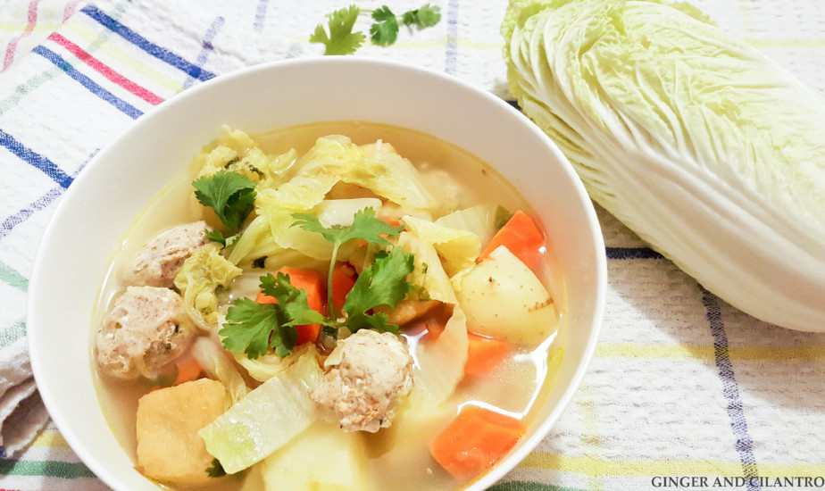 Easy Turkey Meatball Soup