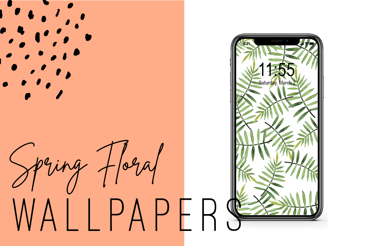 Spring Floral Iphone Wallpapers Ginger And Ivory