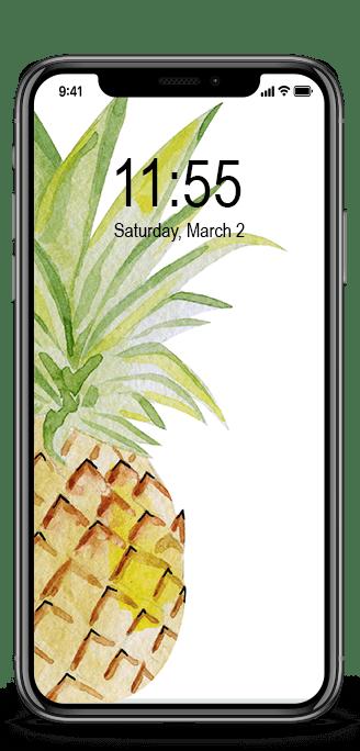 Pineapple iphone wallpaper phone