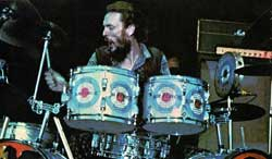 Ginger Baker with Air Force
