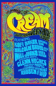 Music of Cream 50th Anniversary Tour
