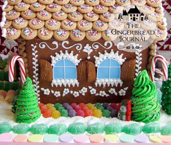 gingerbread house Christmas cookie house-23wm