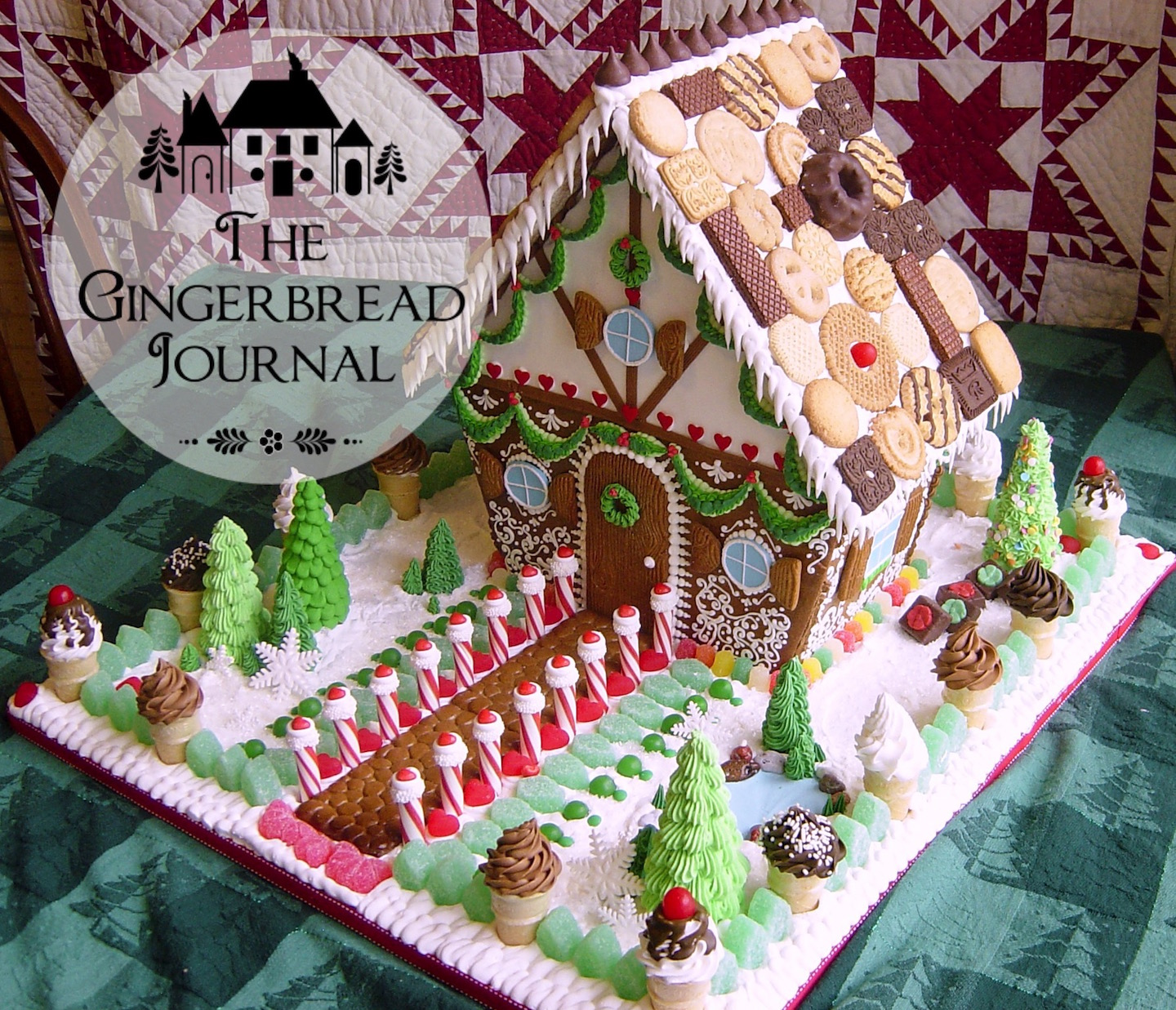 gingerbread house Christmas lebkuchenhaus
