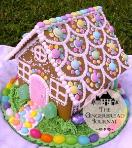 gingerbread house for Easter