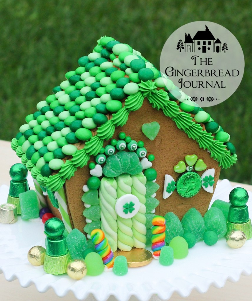gingerbread house St. Patrick's Day 2015-25wm