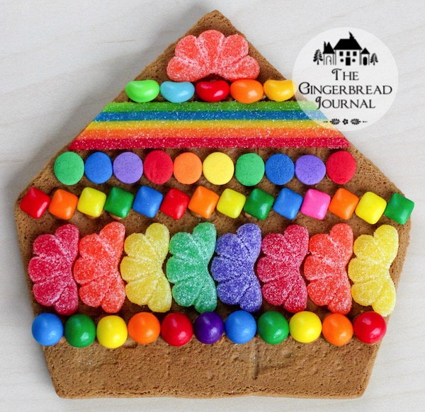 gingerbread house St. Patrick's Day 2015-8wm