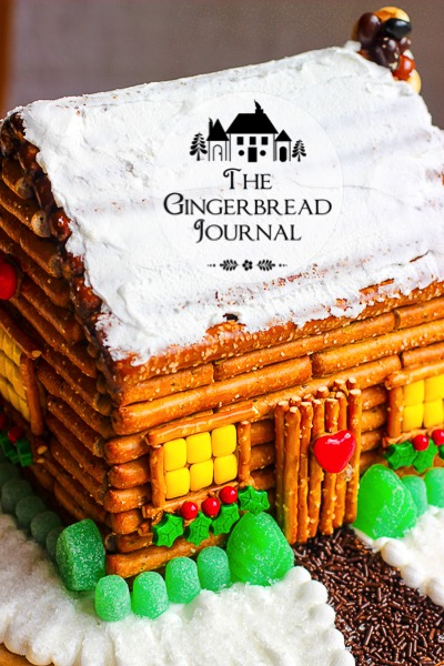 gingerbread house log cabin-7wm