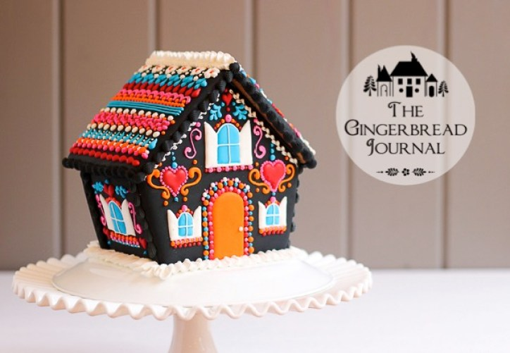 Unusual gingerbread house coloring pages   501x724