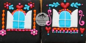 Dia De los Meurtos Gingerbread House