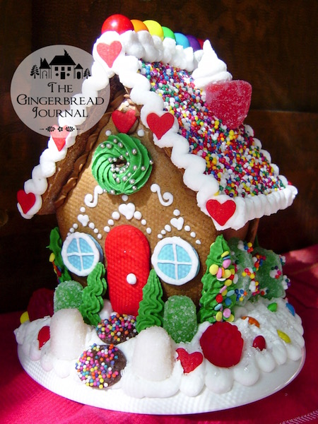 gingerbread house Christmas sr