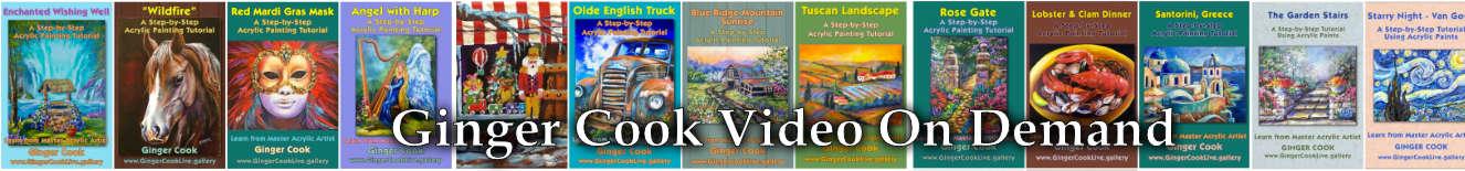 Ginger Cook Video On Demand Tutorials