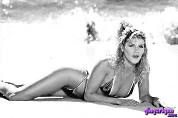 Ginger Lynn Young beach bikini