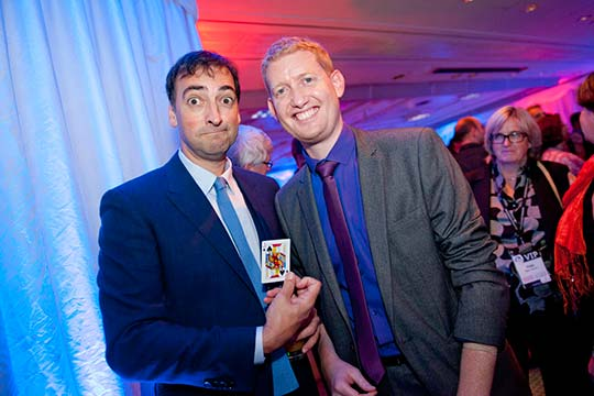 Alistair McGowan with Damian Surr - Gingermagic