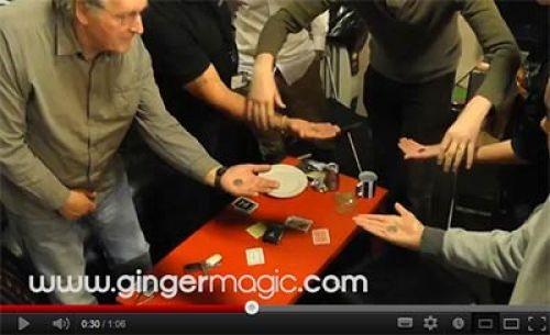Close up magic - Close up magician - Gingermagic TV