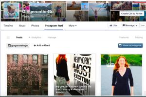 Instagram Iconosquare Facebook Page
