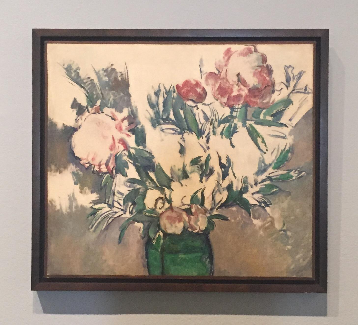 Flowers Cezanne Unfinished