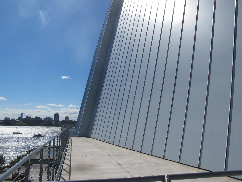 Side Terrace Whitney Museum