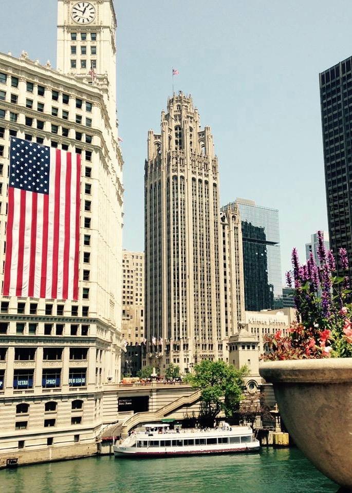 ChicagoRiver Tribune Tower