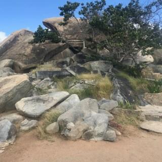 Casibari Aruban Rock Formation