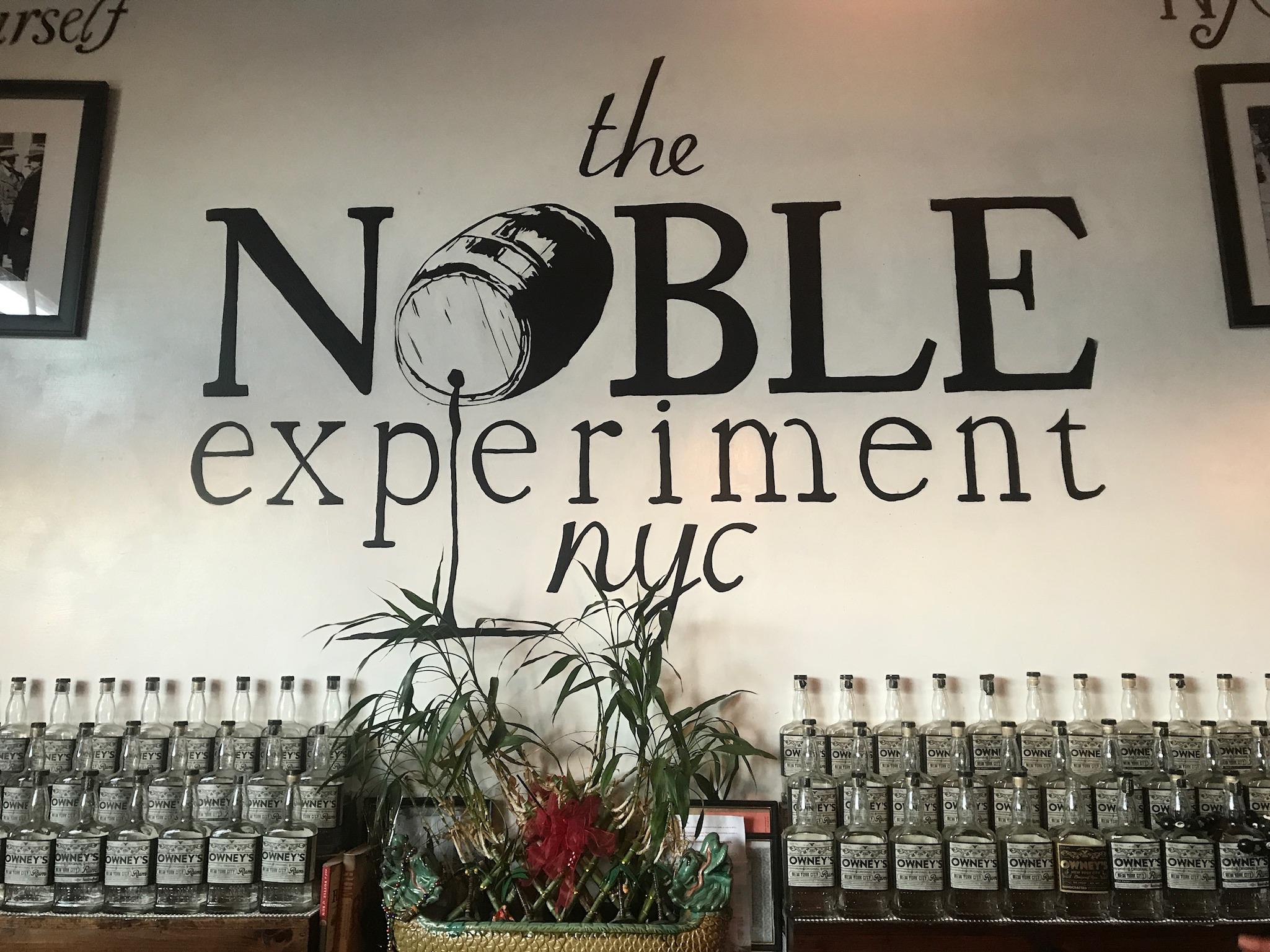 Noble Experiment Brooklyn Rum