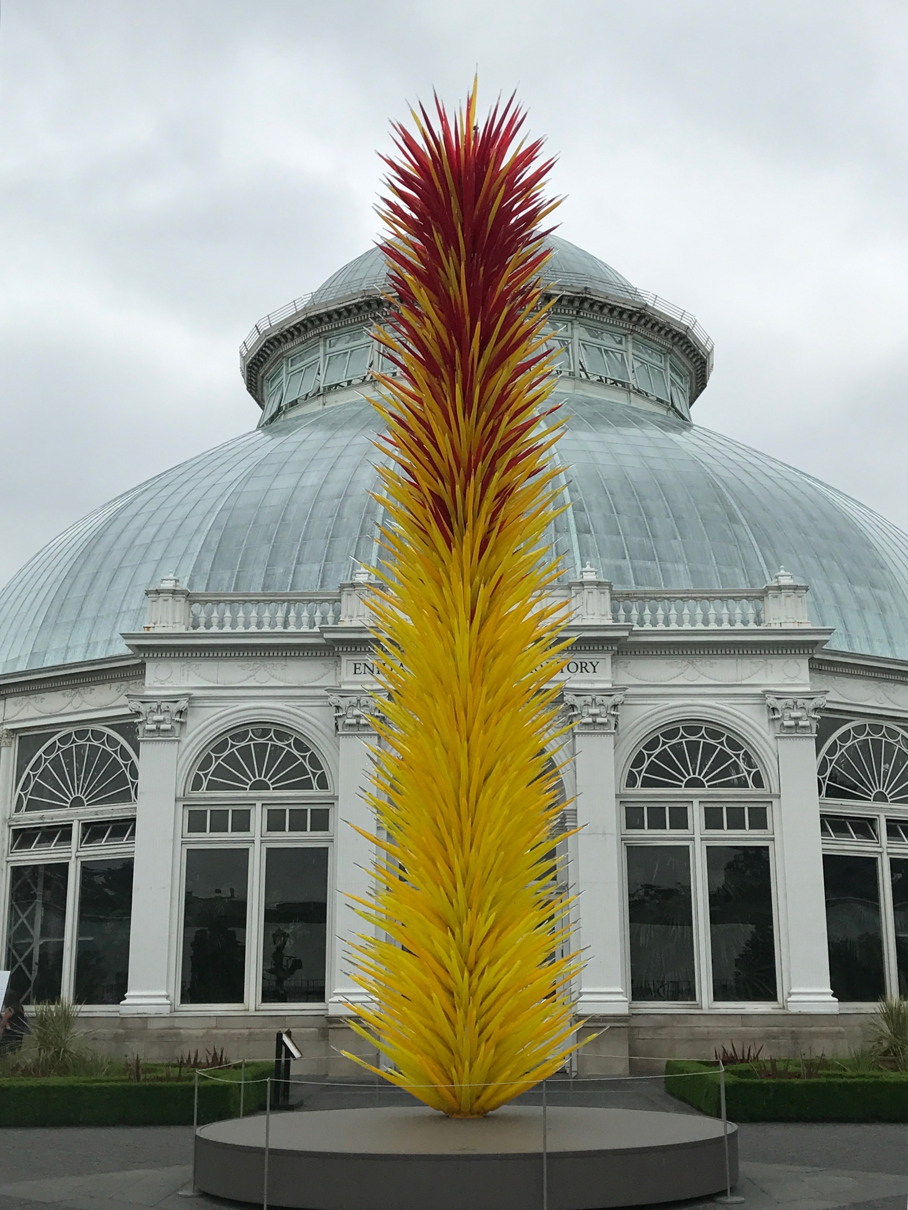 Chihuly Exhibit New York Botanical Gardens Ginger On The Go