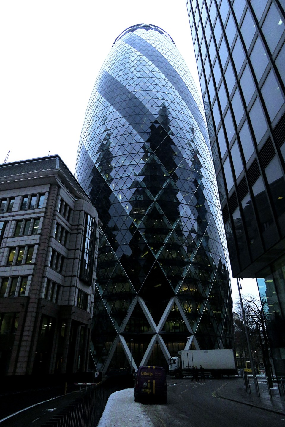 The Gherkin, Liverpool Street, London