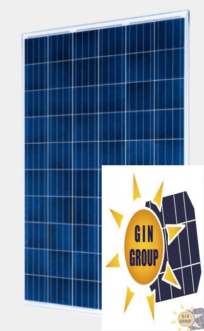 Modulo Fotovoltaico Policristallino 60 celle EU