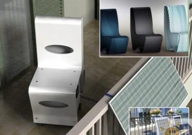 Storage, la sedia che accumula energia fotovoltaica!