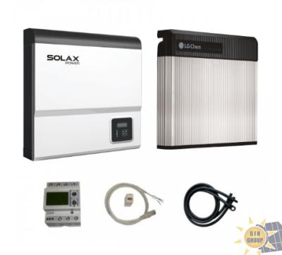 LG CHEM RESU3.3 + SOLAX SK-SU3700E