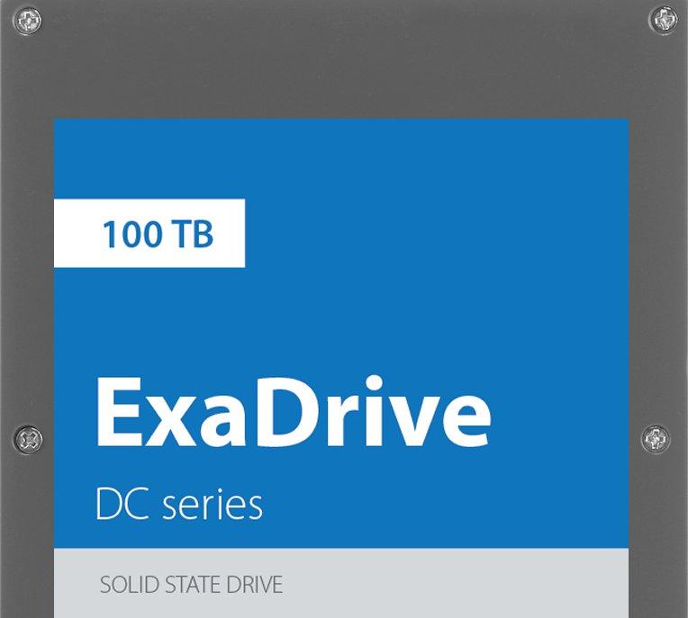 Nouveau record de stockage pour les SSD : 100 To !