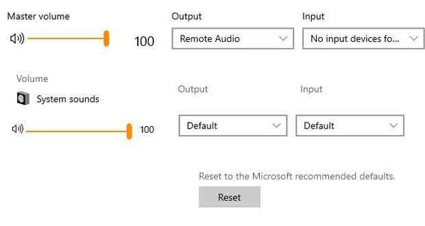 Windows 10 19H1, une nouvelle interface pour le mixeur de volume