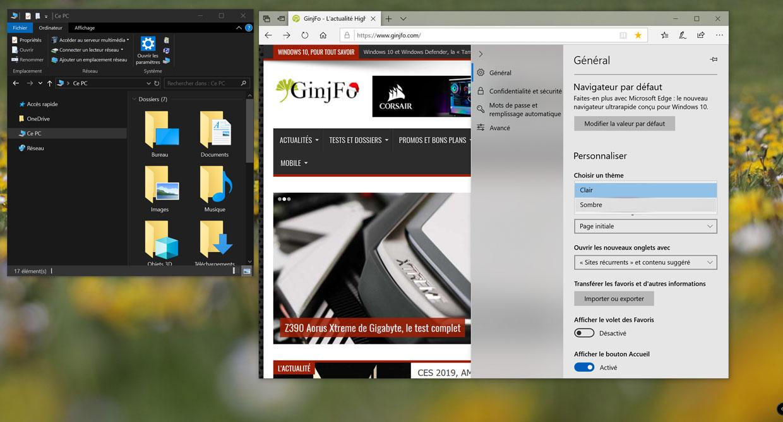 Windows 10 v1809 comment activer le th me sombre dans l explorateur de fichiers - Activer office par telephone ...